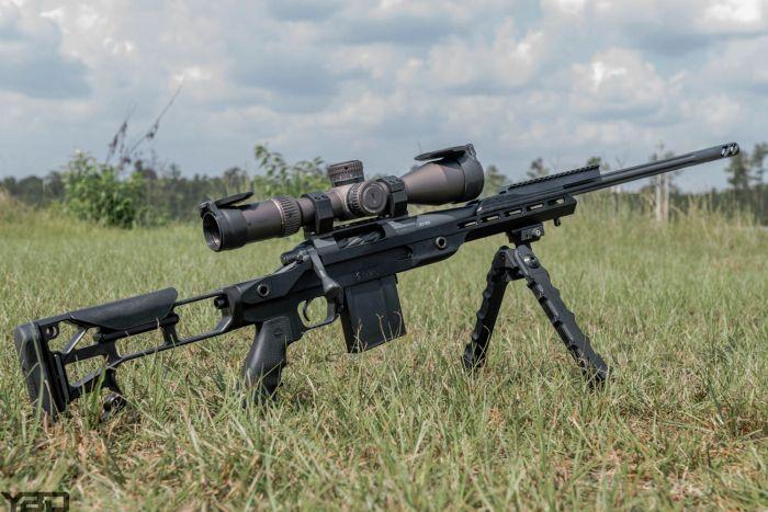 Rainier Arms Precision Rifle on our 800 yard sniper range.
