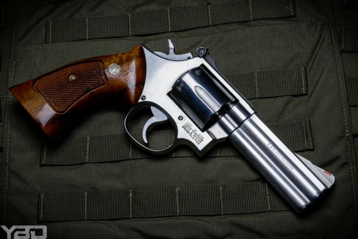 S&W 686 Revolver chamber in 357 Magnum.