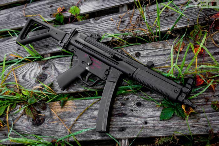 A full auto Zenith Firearms MP5 clone.