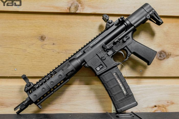 LWRC SIX8-PDW chambered in 6.8mm