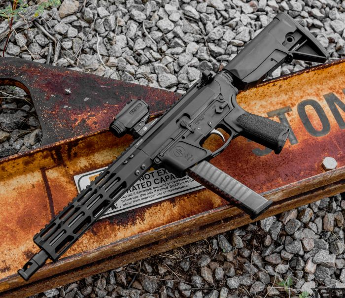 The PWS PCC-9 SBR all loaded up and ready to go!