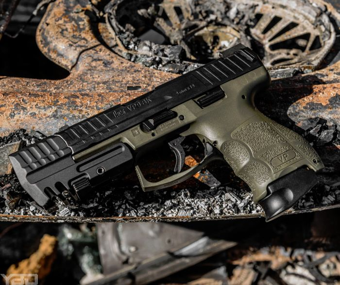 My OD Green VP9SK with a match weight from HK Parts.