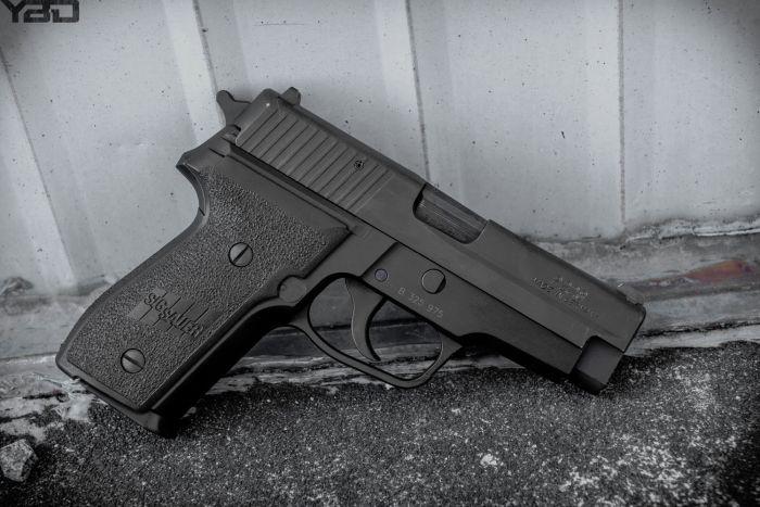A German made Sig Sauer P228.