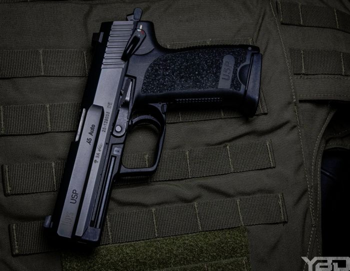 Heckler & Koch's USP 45 is one accurate and reliable firearm.