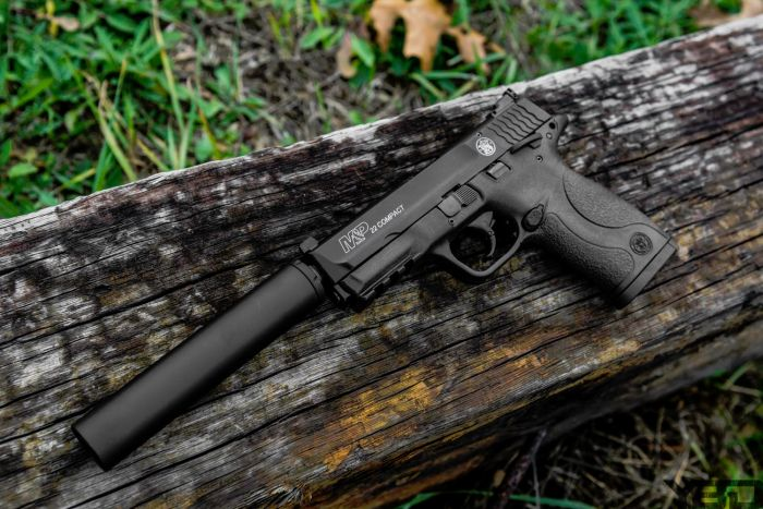 Suppressed 22s are so much fun…… and quiet.
