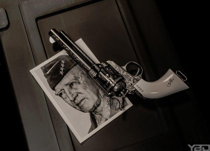 A General George S. Patton commemorative edition revolver.