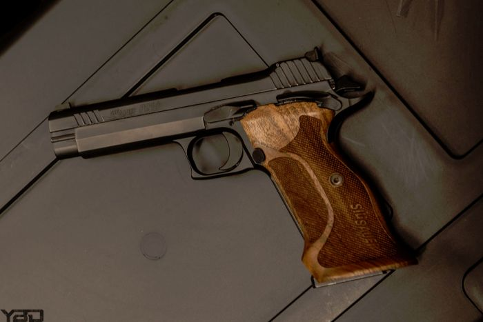 The very rare and VERY accurate Sig Sauer P210.