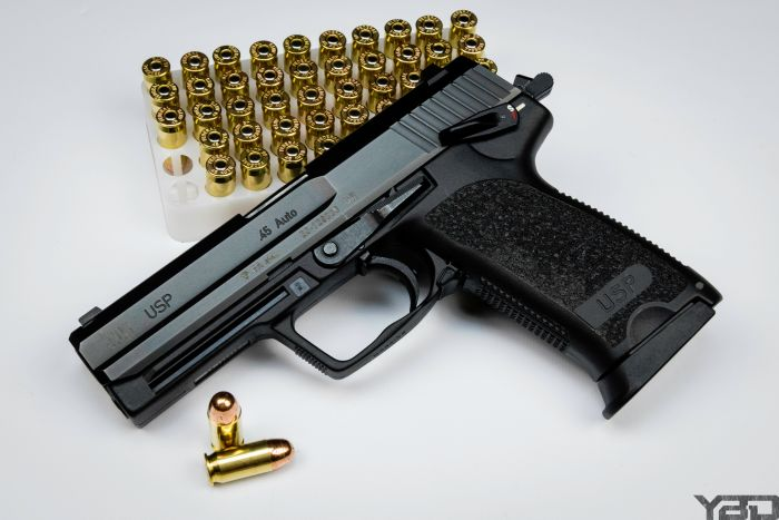 One of my favorite non-1911 45s.  The HK USP45.