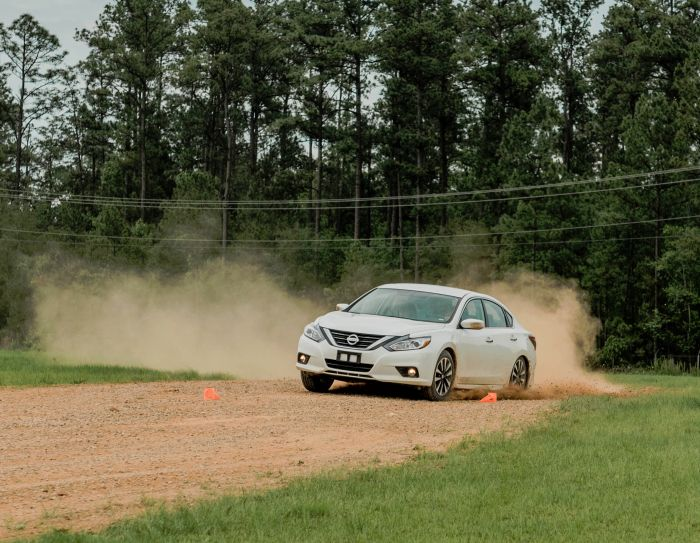 Our partner Absolute Vehicle Control came to our facility in Barnwell South Carolina to teach a custom driving course.