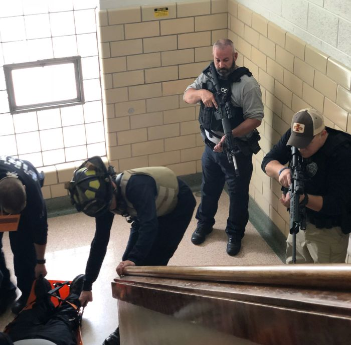 Our Mobile Training Team conducting Rescue Task Force Training in Iowa.