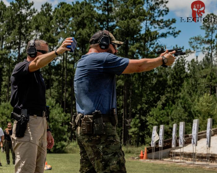 Jared Reston of Reston Group came out to our facility in Barnwell South Carolina to teach his 2 Day Performance Gunfighting MOD 1 Course.