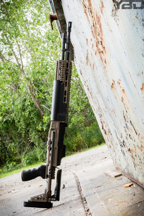 An amazing M1A with EBR chassis.
