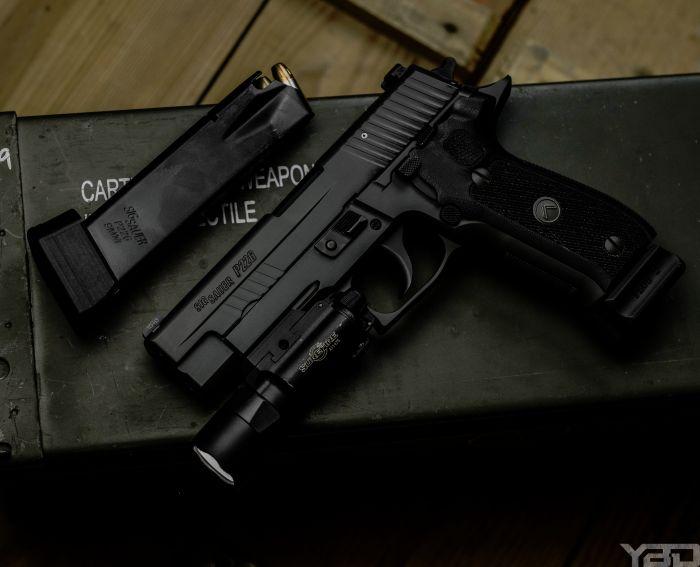 The Sig Sauer P226 Legion.