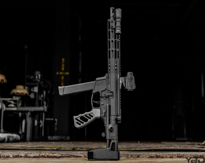 My PWS PCC9 with Maxim PDW pistol brace.