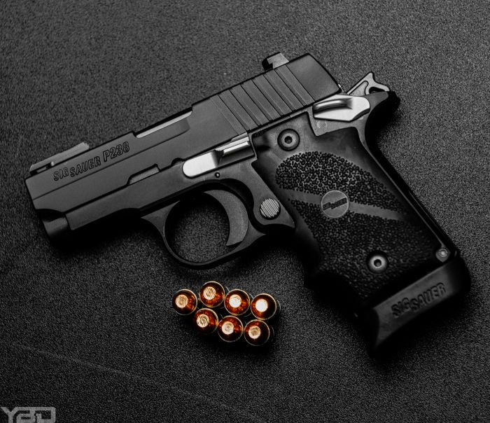 My favorite 380.  The Sig Sauer P238 in 380ACP.