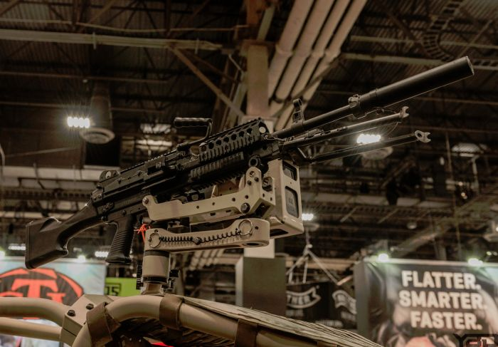 For those time you want to make a statement but be quiet about it.  (SHOT Show 2018)