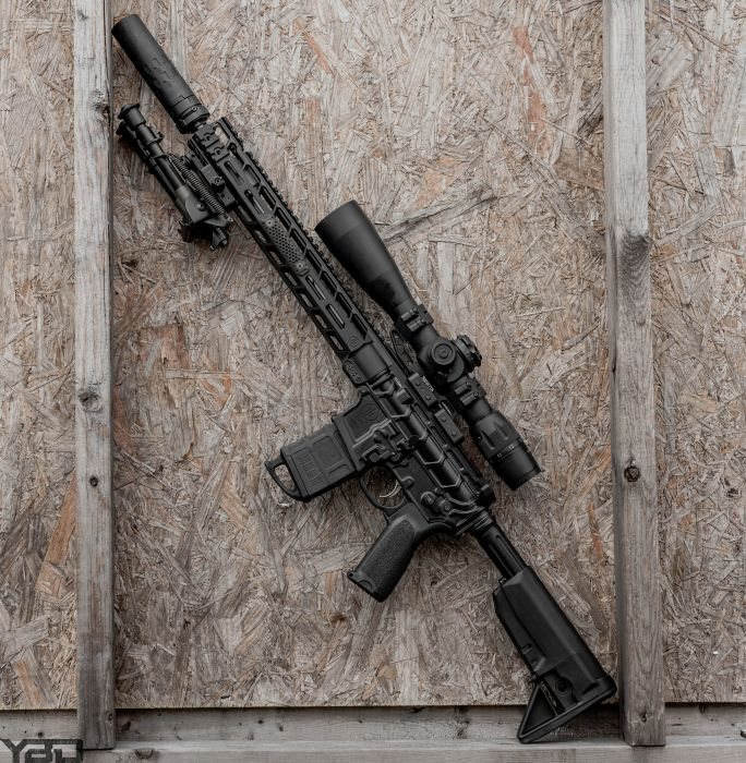A PWS MK114 MOD 2-M all dressed up with some US Optics glass, a ZRO Delta bipod, and Silencer Co suppressor.