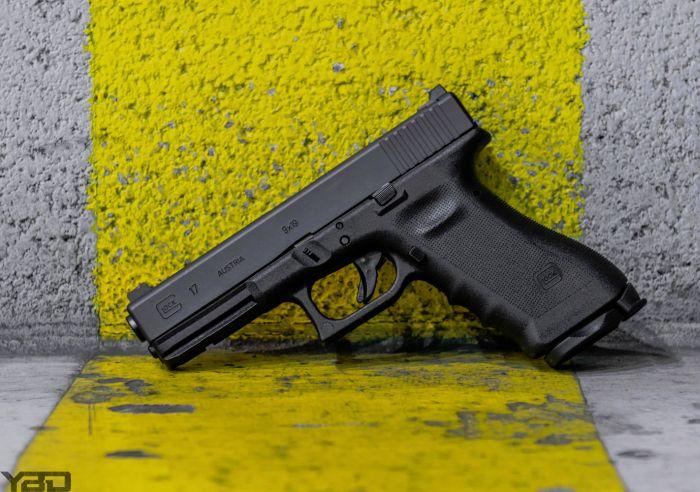 A Vickers Tactical Glock 17.