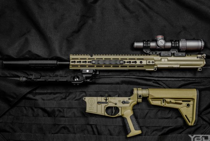 My PWS MK115 MOD 1 with MERCON 1-6 optic, Accu-Tac bipod, and Gemtech ONE suppressor.