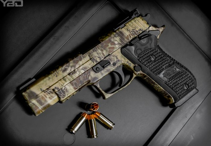 The Sig Sauer P220 HUNTER in 10MM.