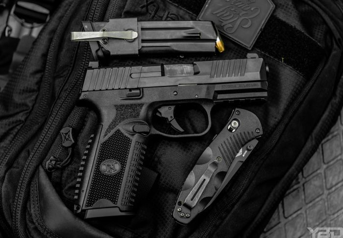 The FN509 was one pistol that truly impressed me.  It's comfortable in your hands and a great shooter all around.