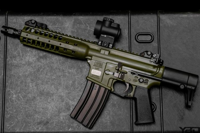 My version of going green is getting this LWRC M6 PDW