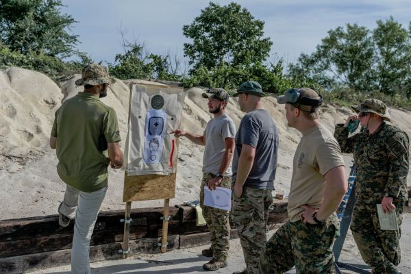 Allen Ford - Tactical Instructor On the Range