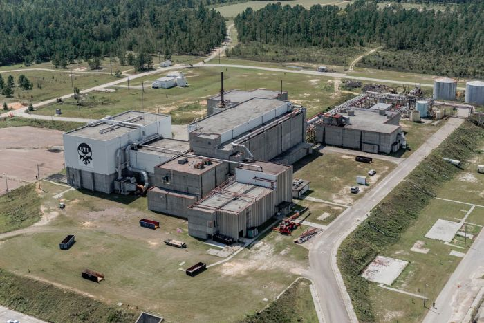 Our 9-story training structure is a fully decommissioned nuclear facility.