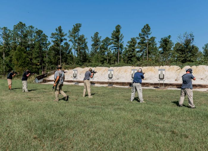 Allen Ford walking down the line during our Gunfighter Carbine Phase 1 course.