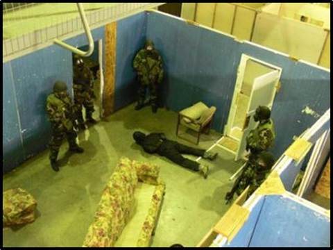 Military and law enforcement professionals hone CQB skills at GTI's facility in South Carolina.