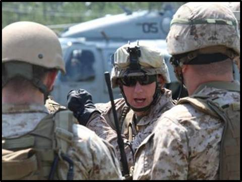 26th MEU Training at the Joint Operations Center
