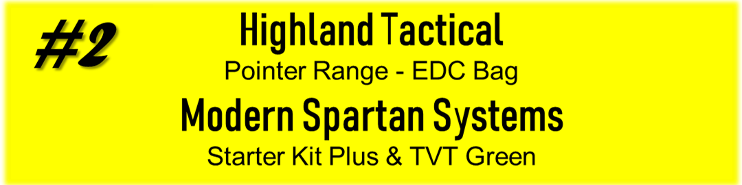 Highland Tactical and Modern Spartan Systems Promotion