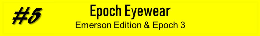 Epoch Eyewear Promotion