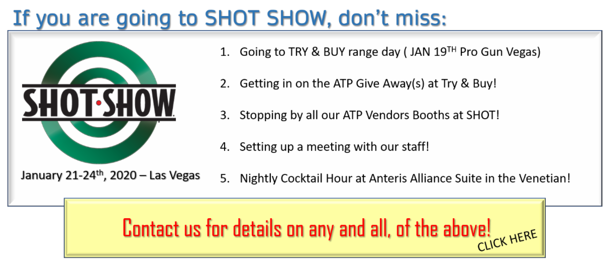 Things to do at SHOT SHOW
