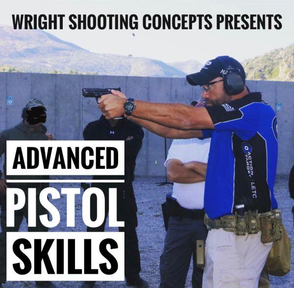 Brandon Wright's Advanced Pistol Skills