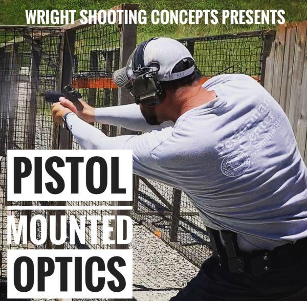 Brandon Wright's Pistol Mounted Optics