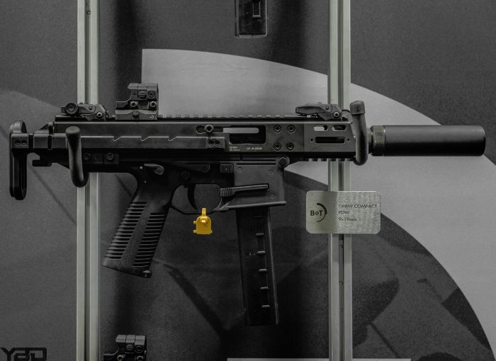 The Brugger & Thomet APC9 PRO at SHOT Show 2019.