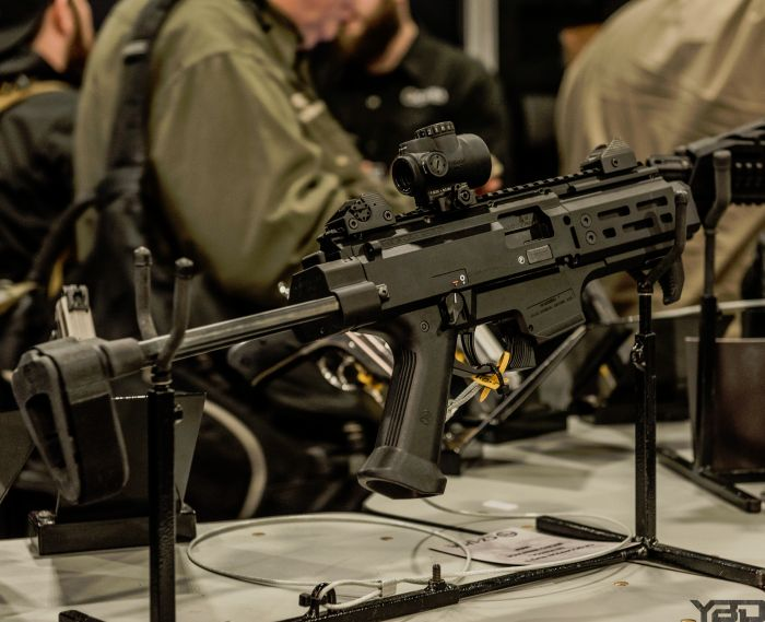 The CZ Scorpion EVO 3 S2 at SHOT Show 2019.