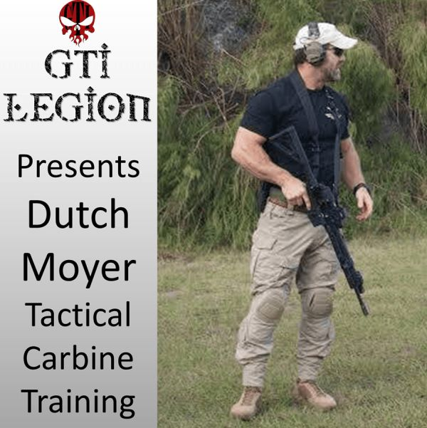 Dutch Moyer 2 Day Tactical Carbine Training