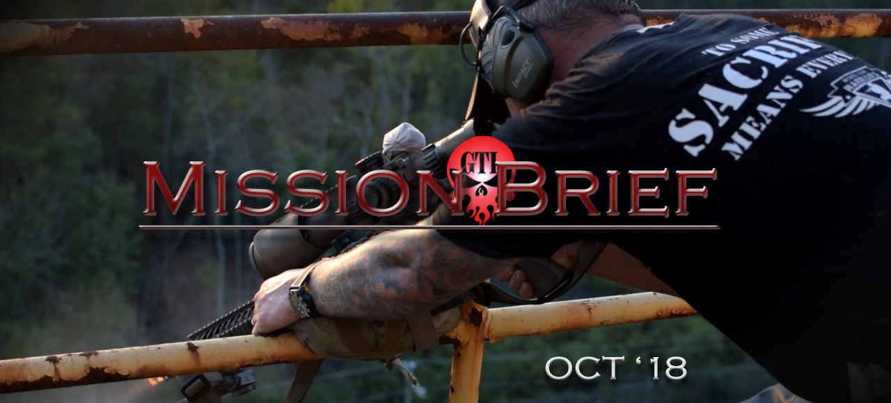 GTI Monthly Mission Brief