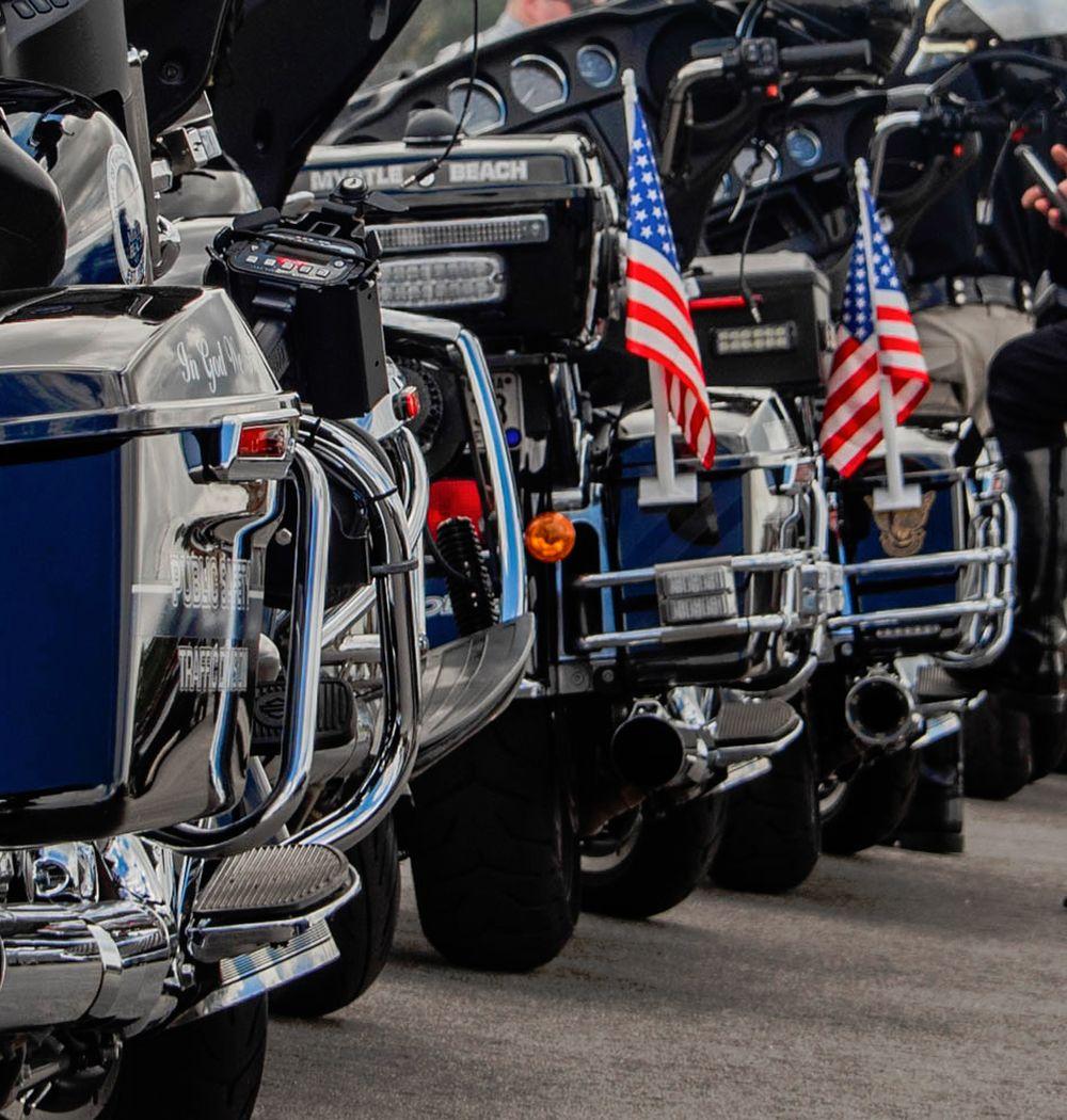 SGT Terrence F. Carraway Motorcade