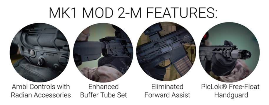 PWS Primary Weapons Systems MK1 MOD 2-M