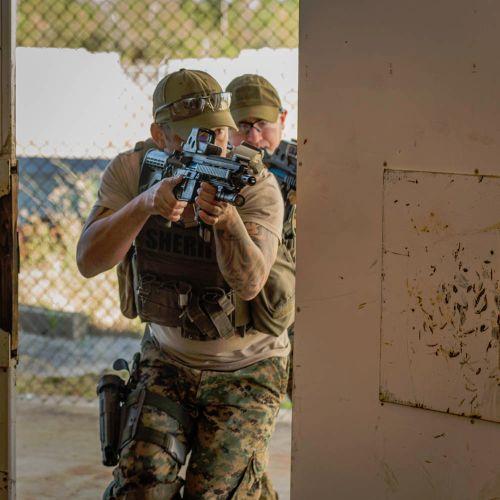 Close Quarters Battle Training