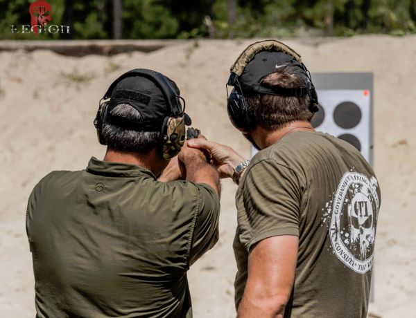 GTI Legion Pistol Marksmanship Training 101 - How To Hit What You Aim At