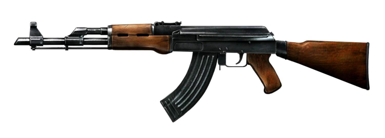 Classic AK-47 Rifle
