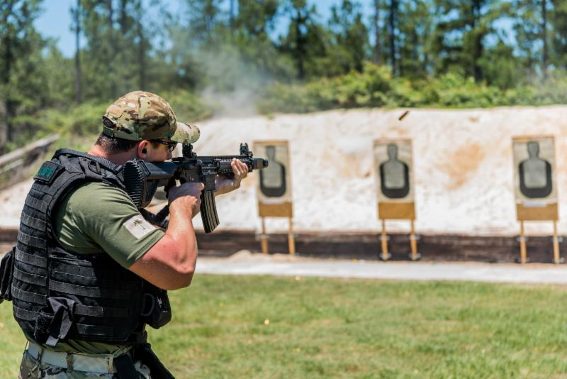 Government Training Institute Live Fire Range Shooting