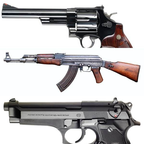 My Personal Top 10 Most Iconic Firearms