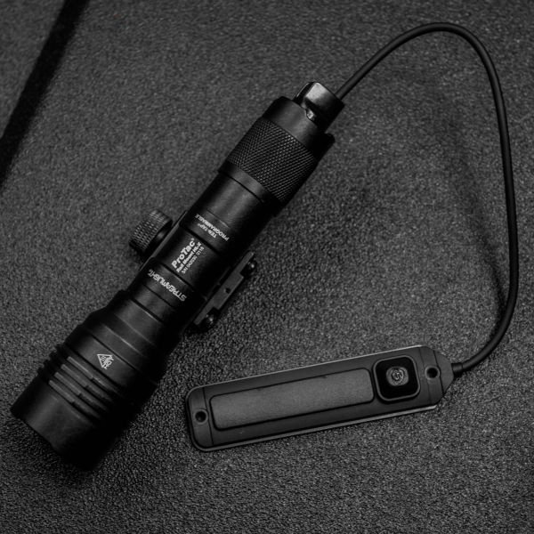 Streamlight ProTac HL-X with pressure switch.