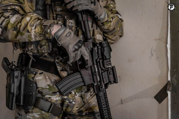 The Aimpoint Comp M5 with Magnifier