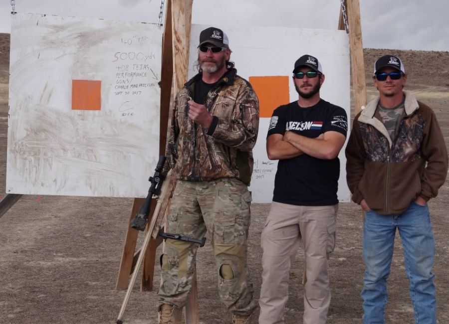 World Record for Long Range Shot
